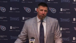 Press Conference: Titans Introduce New Head Coach Mike Vrabel