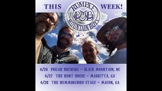 Rumpke Mountain Boys @ Pisgah Brewing Co. 4-26-2018