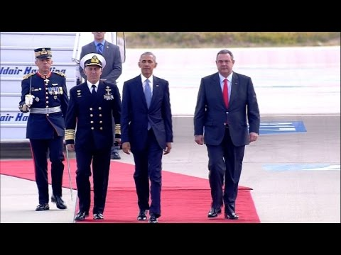 Obama kicks off final foreign trip as president in Athens