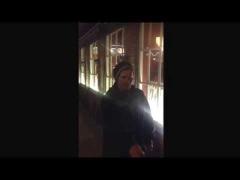 Ottawa Homeless man does crazy trick