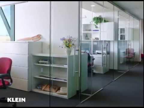 Frameless Sliding Glass Doors - Klein USA - YouTube