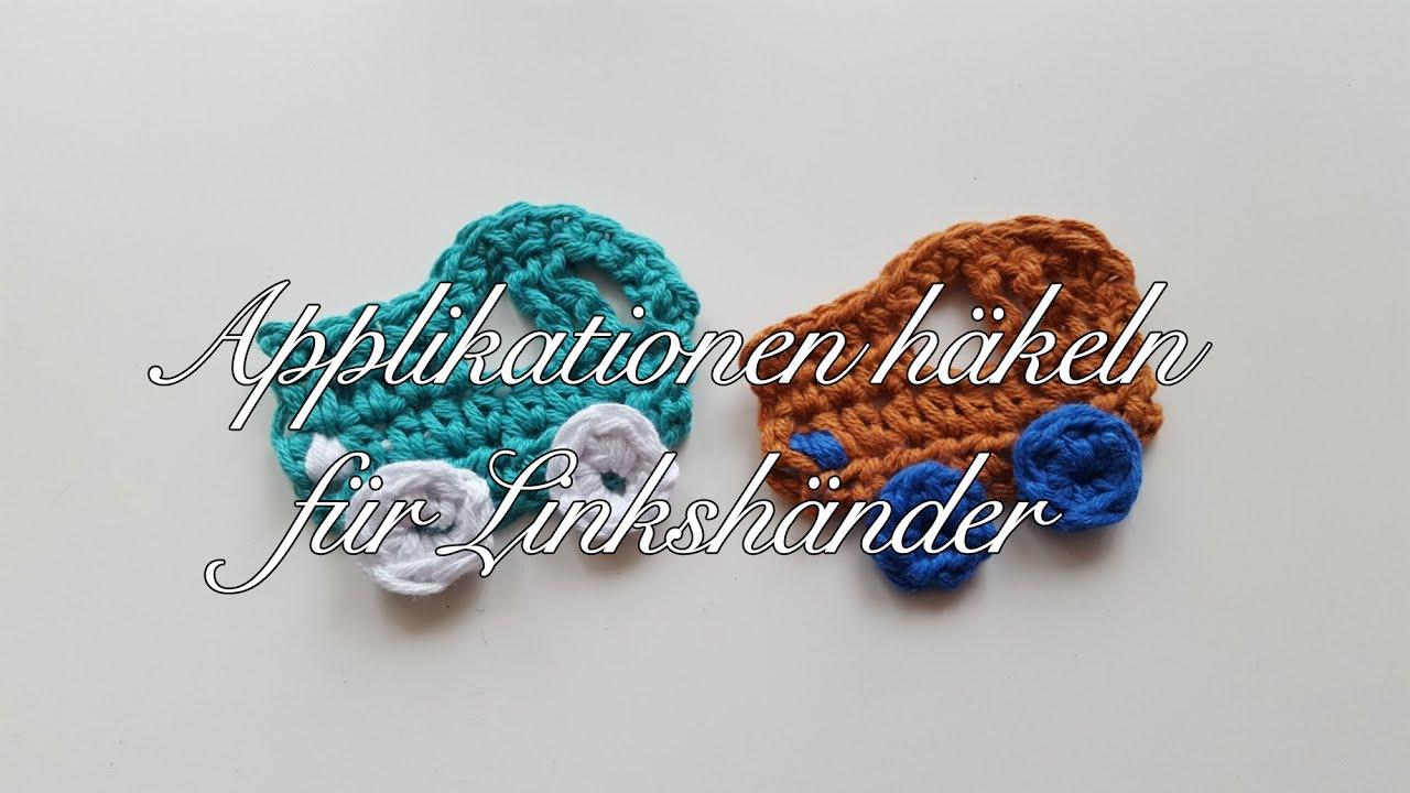 Applikation Auto häkeln - Applikationen selber häkeln Anleitung ...