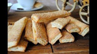ПЕЧЕНЬЕ 🍪 рецепт. ВКУСНОЕ и простое ТВОРОЖНОЕ печенье 🍪 к чаю. Простой и Вкусный Домашний рецепт .