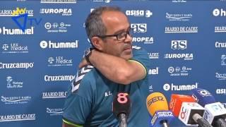 Rueda de prensa de Álvaro Cervera en previa Hércules-Cádiz (24-06-16)