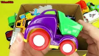 Scatola Di Giocattoli Auto Veicoli Per Bambini Camion Dei Pompieri Auto Della Polizia Autoambulanza