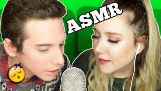 ASMR: susurrando, comiendo, peinado cabello, lengua de vaca, vaporizador - Pablo Agustín