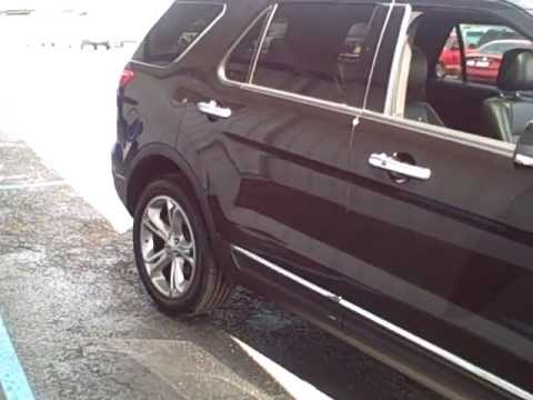 Toledo, Ohio 2013 Ford Explorer Limited at Steve Rogers Ford