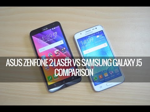 ASUS Zenfone 2 Laser vs Samsung Galaxy J5- Detailed Comparison | Techniqued