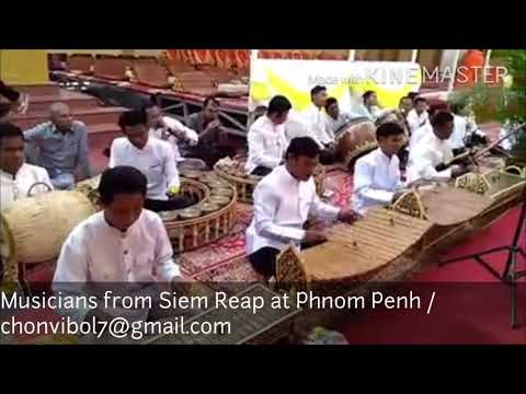 Pinpeat Music  - Siem Reap Musicians - Cambodia Instruments