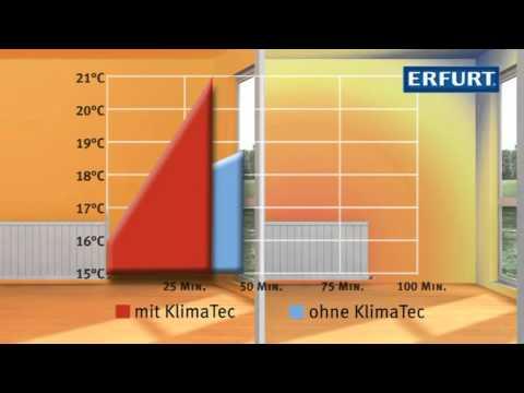 Erfurt KlimaTec Thermovlies gegen kalte Wände - YouTube