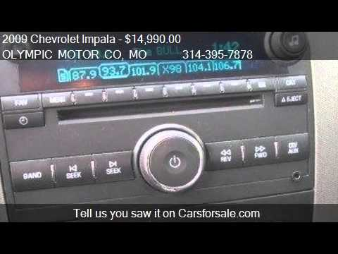 2009 Chevrolet Impala Ss 4dr Sedan For Sale In Florissant