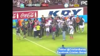 Lanus 3 vs Arsenal 2  (Relato enojado Ricardo Varas) Torneo Primera Division 2014