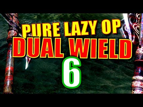 Skyrim Pure Lazy OP Dual Wield Walkthrough Part 6: Easy Early No-Perk Armor Combo thumbnail