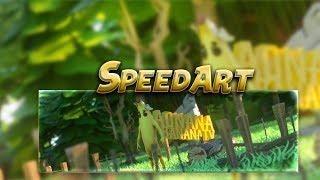 FREE Fortnite Banner Speedart ➽ Banana skin I Cgraphics