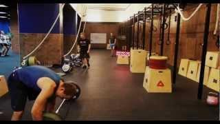 Reebok CrossFit BAZA - Egor K + Ivan F - WOD 25/10/2012