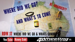 4 Wheeling Australia, Where we went & What