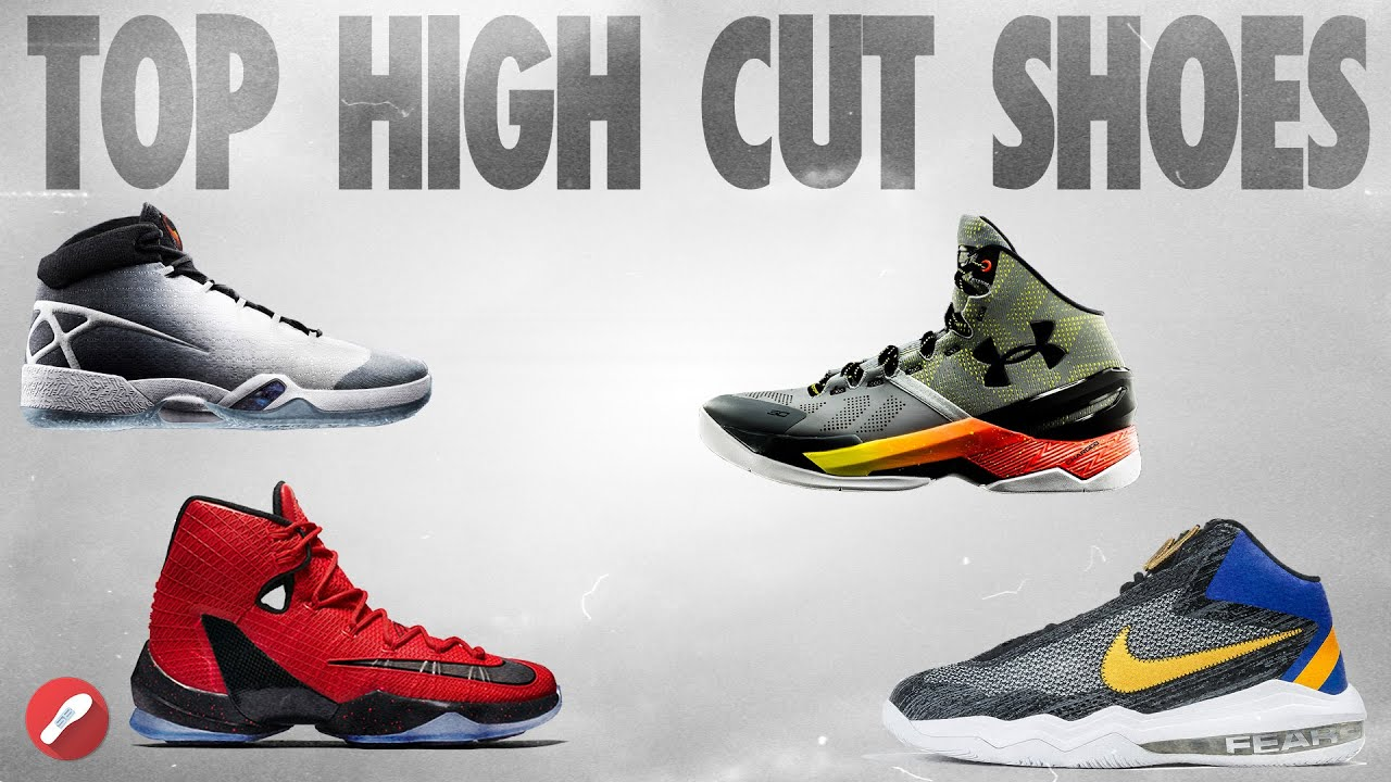 Top 5 High Cut Basketball Shoes! - YouTube