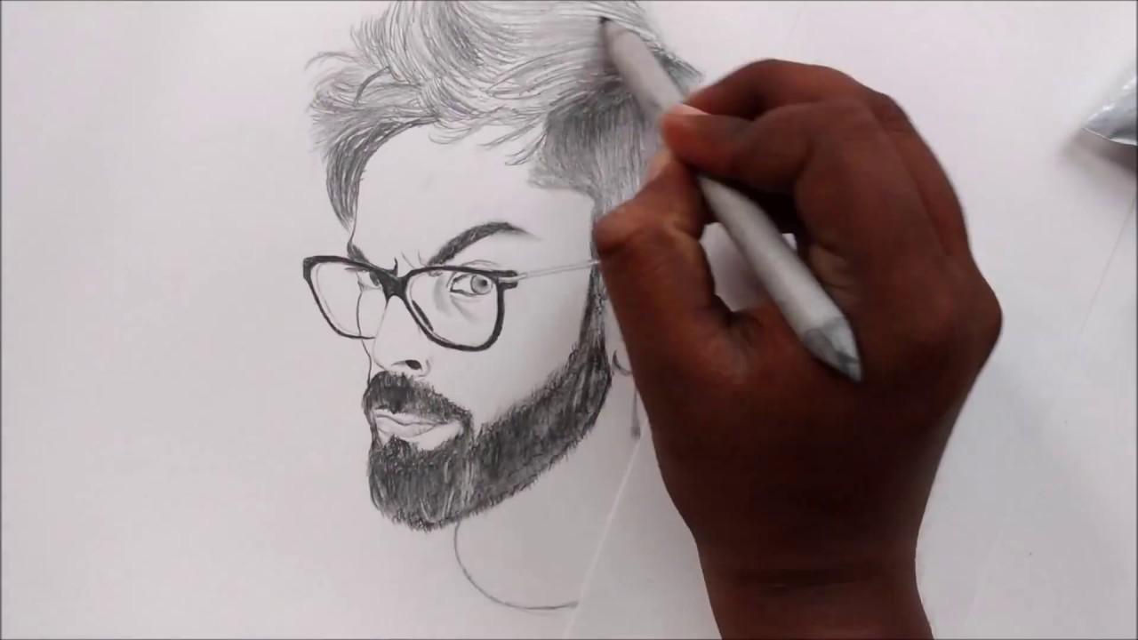 Drawing Virushka Vivek Chattrban By Veceearts