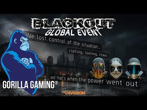 [Division][PS4] 🦍Gorilla Gaming®| The Division: Global Event: Blackout | 🦍