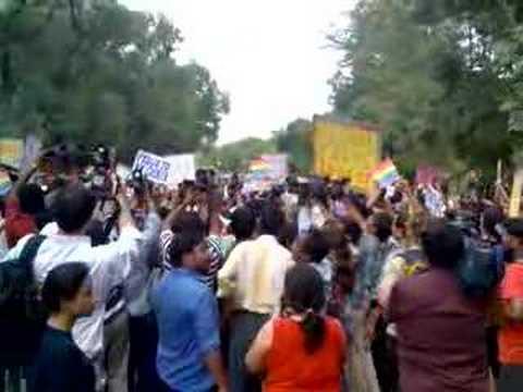 Delhi Queer Gay Parade 2008