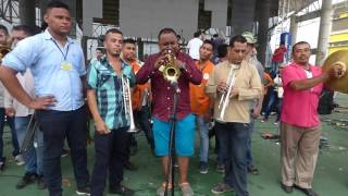 Parrandas en el Patio: Tres Clarinetes. Alborada del Festival del Porro 2016