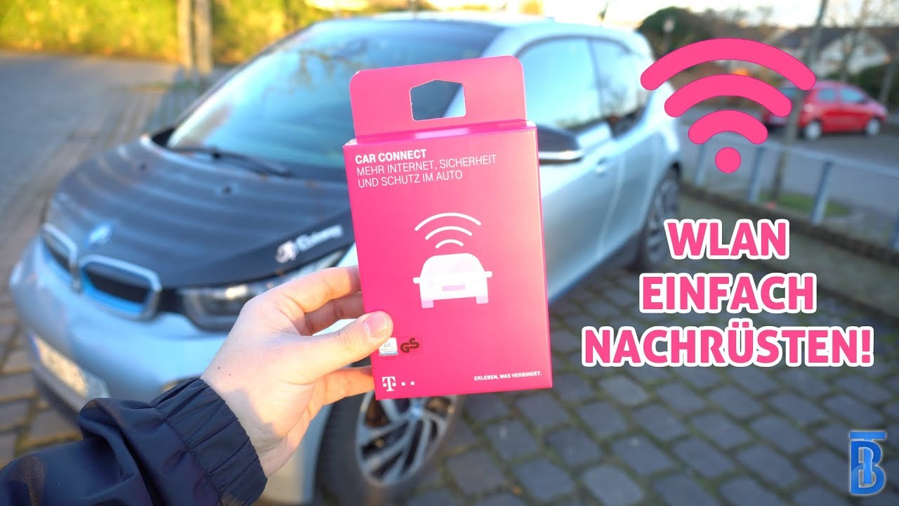 wlan hotspot f rs auto telekom carconnect im bmw i3. Black Bedroom Furniture Sets. Home Design Ideas