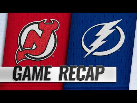 Point scores twice to power Lightning past Devils