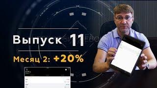 Месяц 2: +20%. Трейдинг с нуля. Во что можно превратить 5 000 рублей за 1 год?!