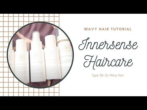 Wavy Hair Routine - 2b Hair Using Innersense Hair Care