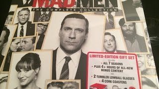Mad Men Complete Series Blu-ray Unboxing