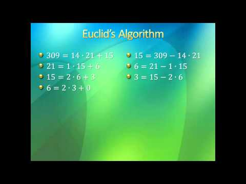 Introduction to Higher Mathematics - Lecture 10: Number Theory