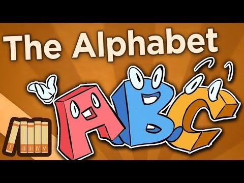 History of Writing - The Alphabet - Extra History