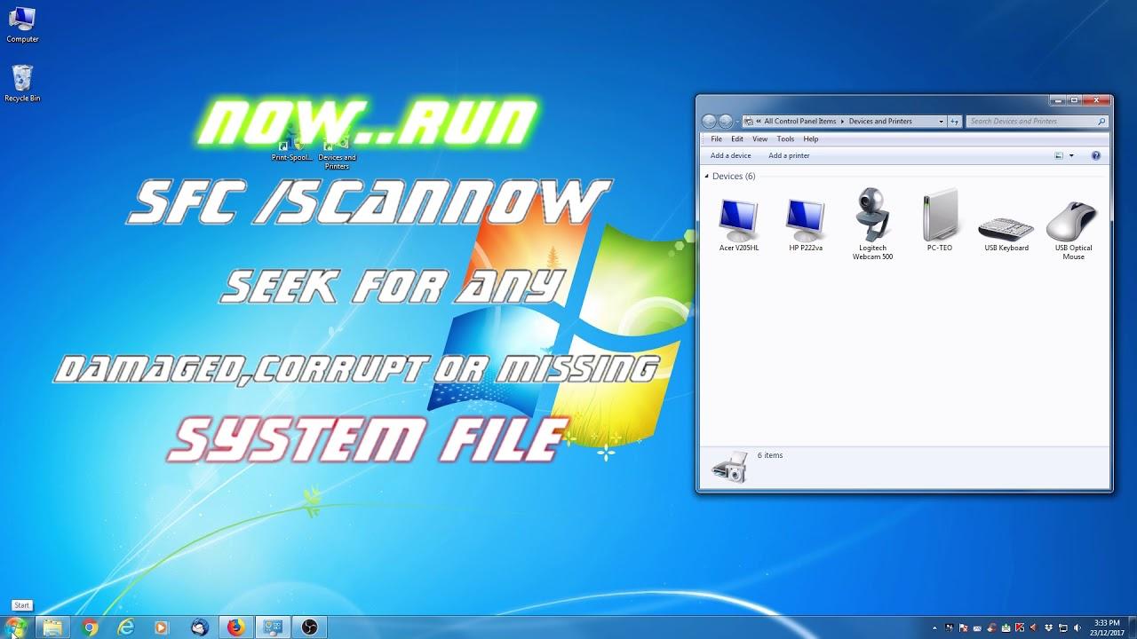 windows 7 update printer list