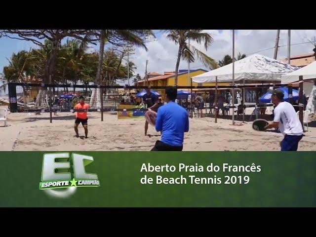 Aberto Praia do Francês de Beach Tennis2019