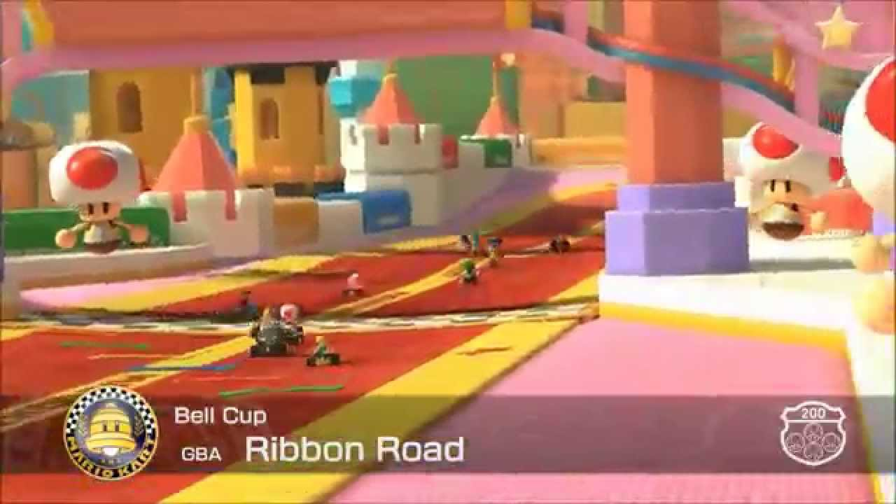 Mario Kart 8 - (GBA) Ribbon Road (Sticker Star Slider Music)
