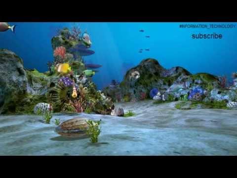 3D Aquarium Live Wallpaper HDافضل خلفيات الاندرويد