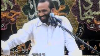 Zakir Syed Zuriat Imran Sherazi 12 April 2013 Bharthanwala Sialkot