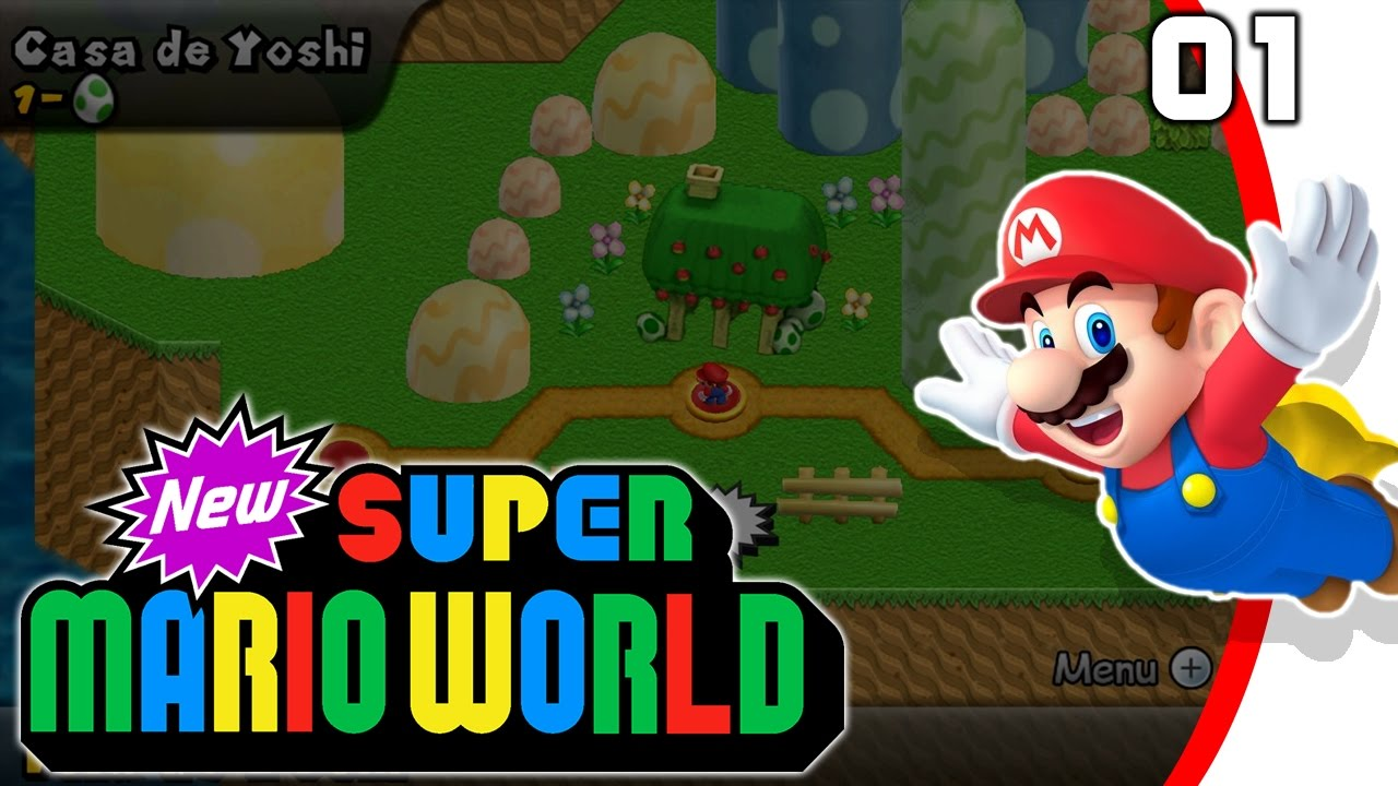 Newer Super Mario World U 01 Fr Youtube