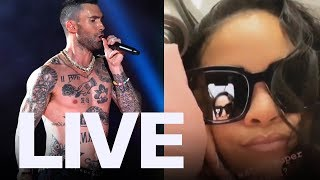 Rihanna Reacts To Maroon 5's Super Bowl Performance | ET Canada LIVE