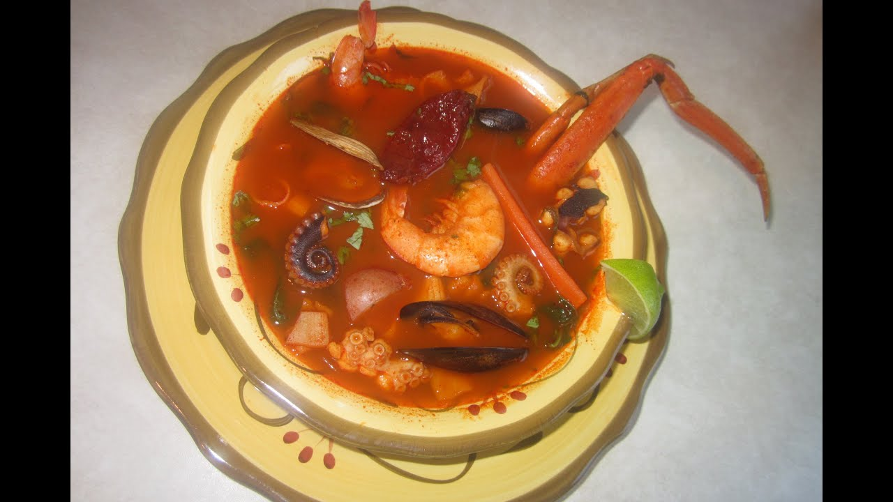 sopa marinera facil