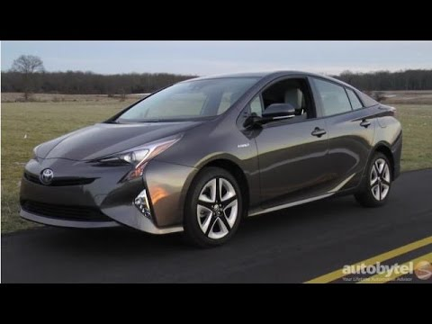 2016 toyota prius hybrid test drive video review youtube. Black Bedroom Furniture Sets. Home Design Ideas