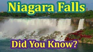 NIAGARA FALLS = American Falls + Bridal Veil Falls + Horseshoe Falls