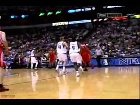 Tracy McGrady 34pts Vs Dallas Mavericks (4/23/05) Playoffs Round 1 / Game 1 Dunks On Bradley