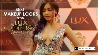 Best Makeup Looks From Lux Golden Rose Awards 2018 Red Carpet