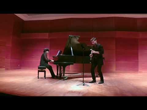 Alban Berg: 4 Pieces For Clarinet And Piano, Op. 5, Movement 2 (Sehr Langsam)