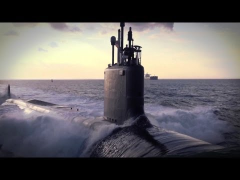 Newport News Shipbuilding - USS Minnesota (SSN 783) Nuclear Submarine First Sea Trials [1080p]