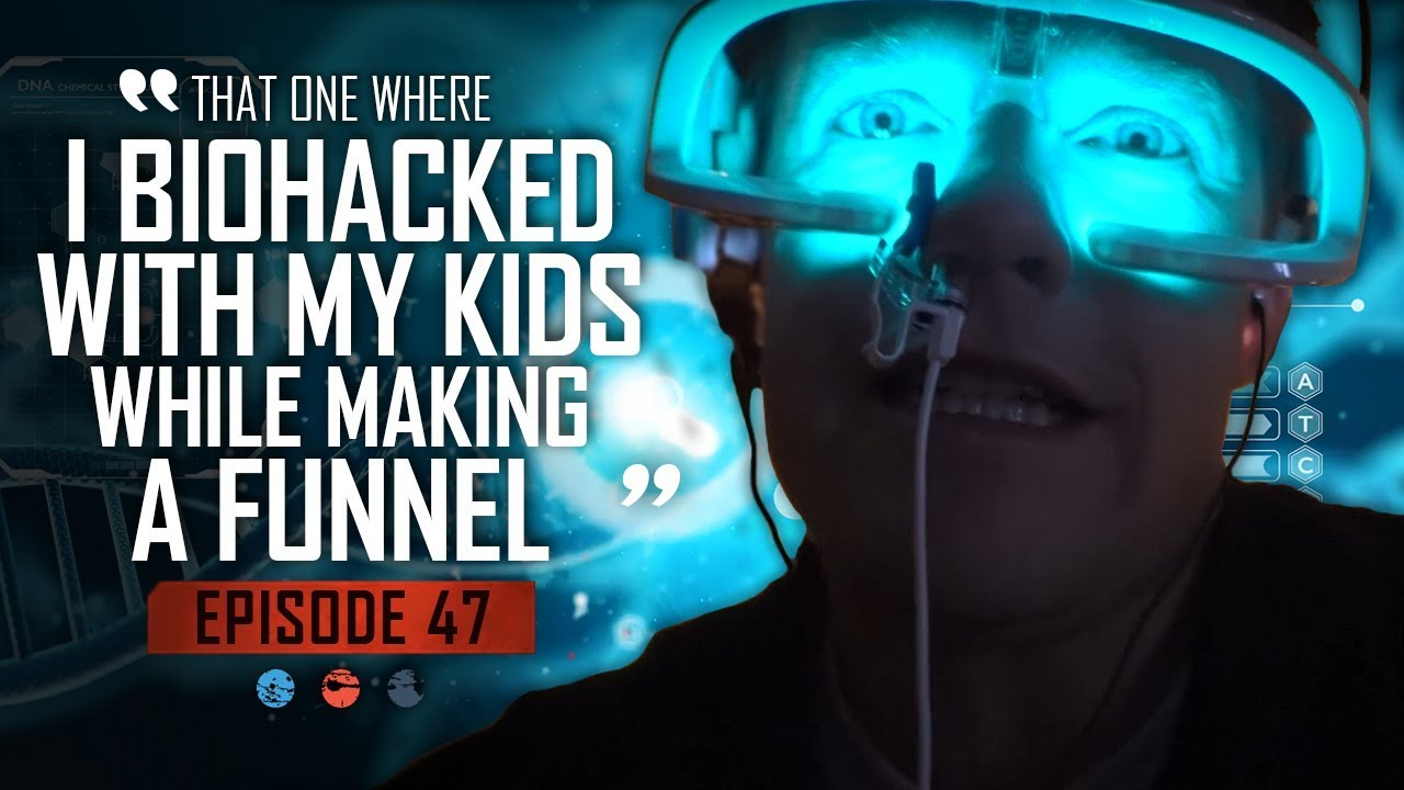 That one where I Biohacked with my kids while making a funnel... Funnel Hacker TV Episode 47