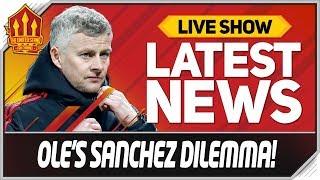 Solskjaers Sanchez Ultimatum Man Utd News