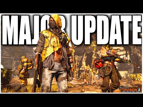 THE DIVISION 2 NEXT MAJOR UPDATE WILL CHANGE EVERYTHING! THIS IS CRAZY! DEVS BREAK SILENCE!
