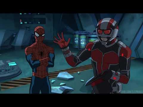 Человек паук и доктор Стрэндж против Человека муравья   Великий Человек паук